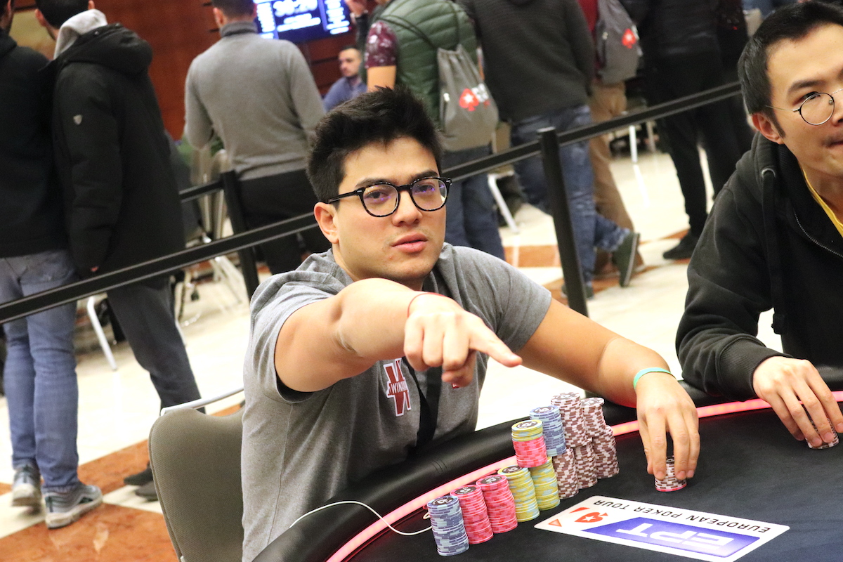 Pierre Calamusa Main Event Day 1